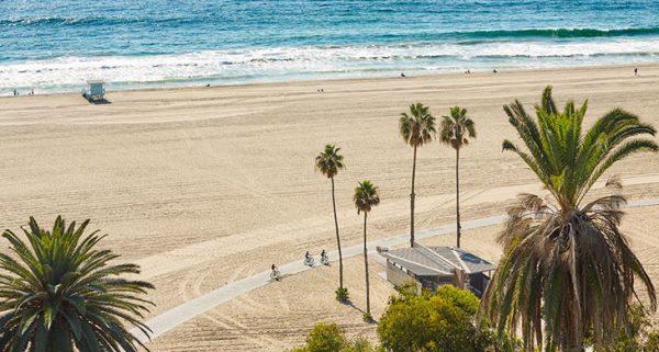 Santa Monica Beach Path